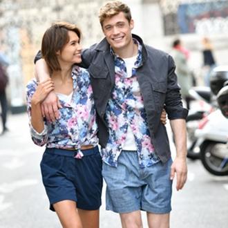 Eden-Park-menswear-and-womenswear-floral-shirt