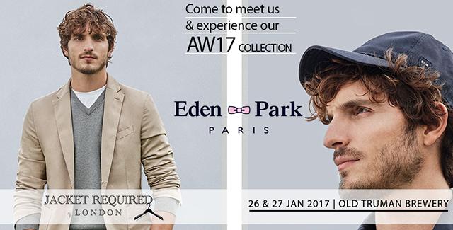 Eden Park Jacket Required